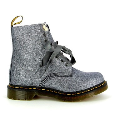 Bottinen Dr. Martens Zilver