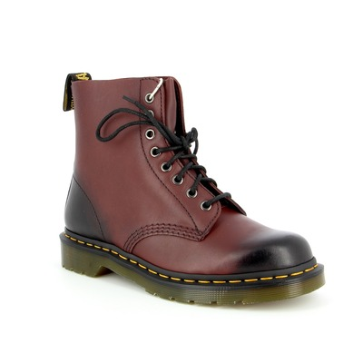 Bottines Doc Martens Bordeaux