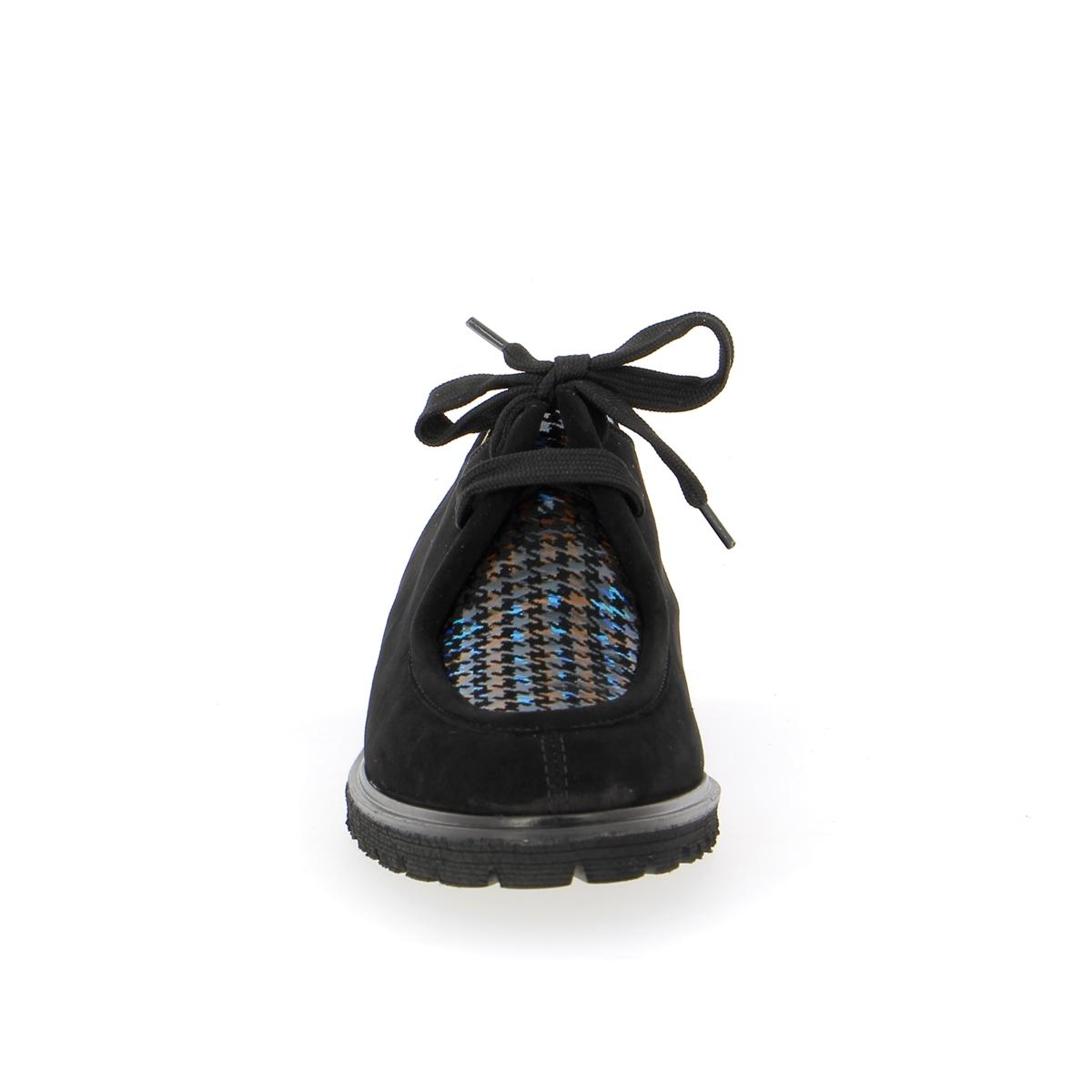 Brunate Veterschoenen zwart