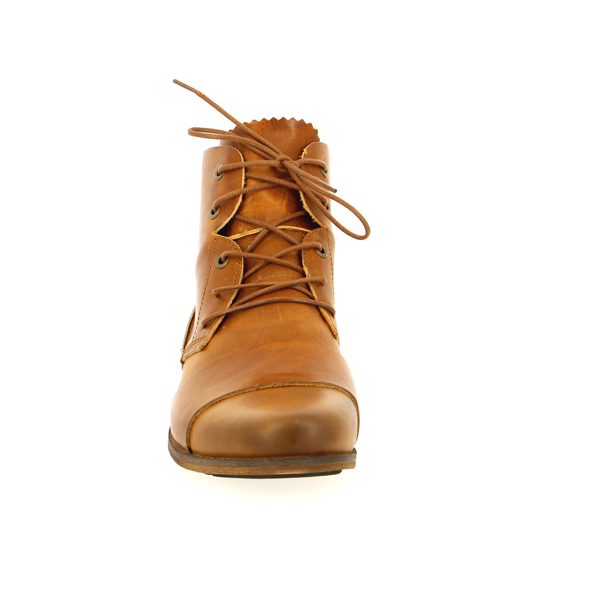 Hub Bottines cognac