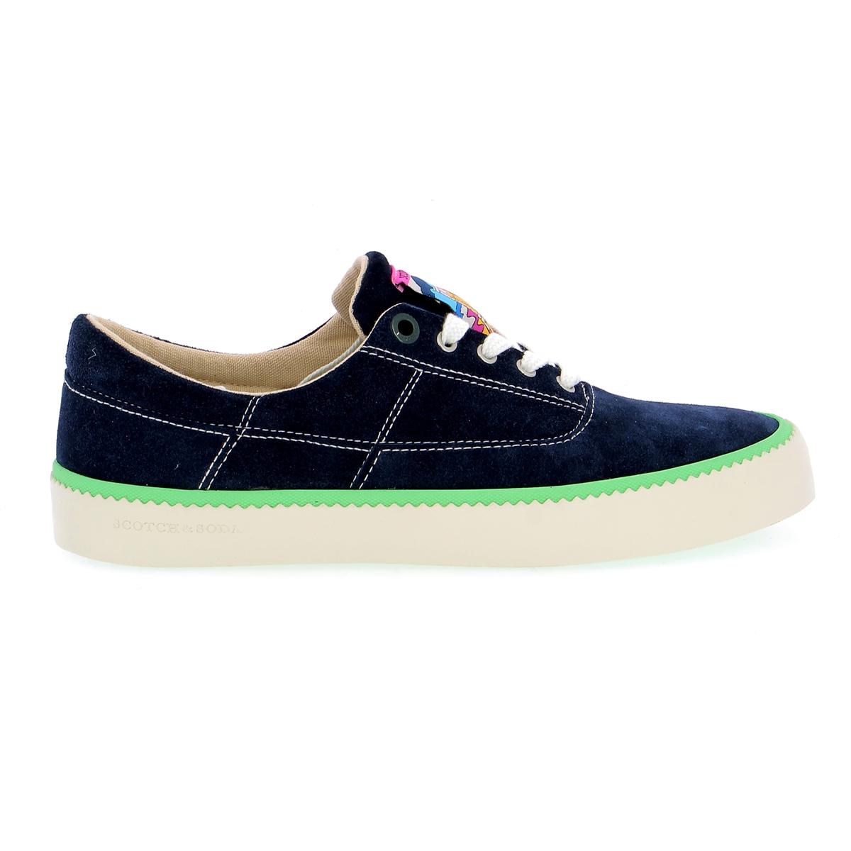 Scotch & Soda Sneakers blauw