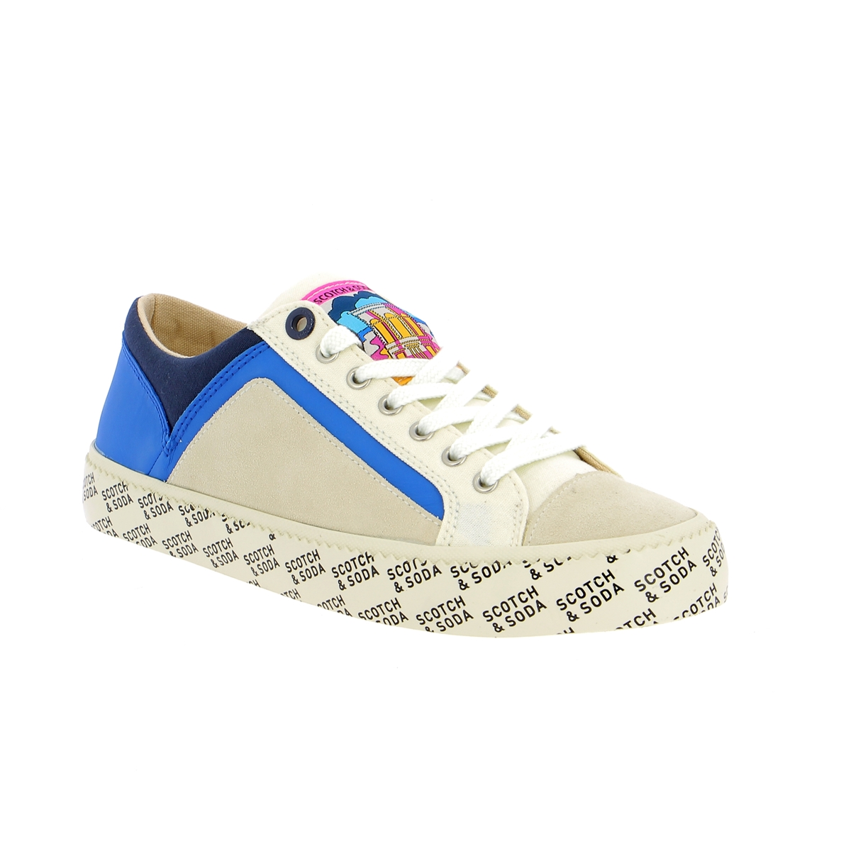 Scotch & Soda Sneakers wit