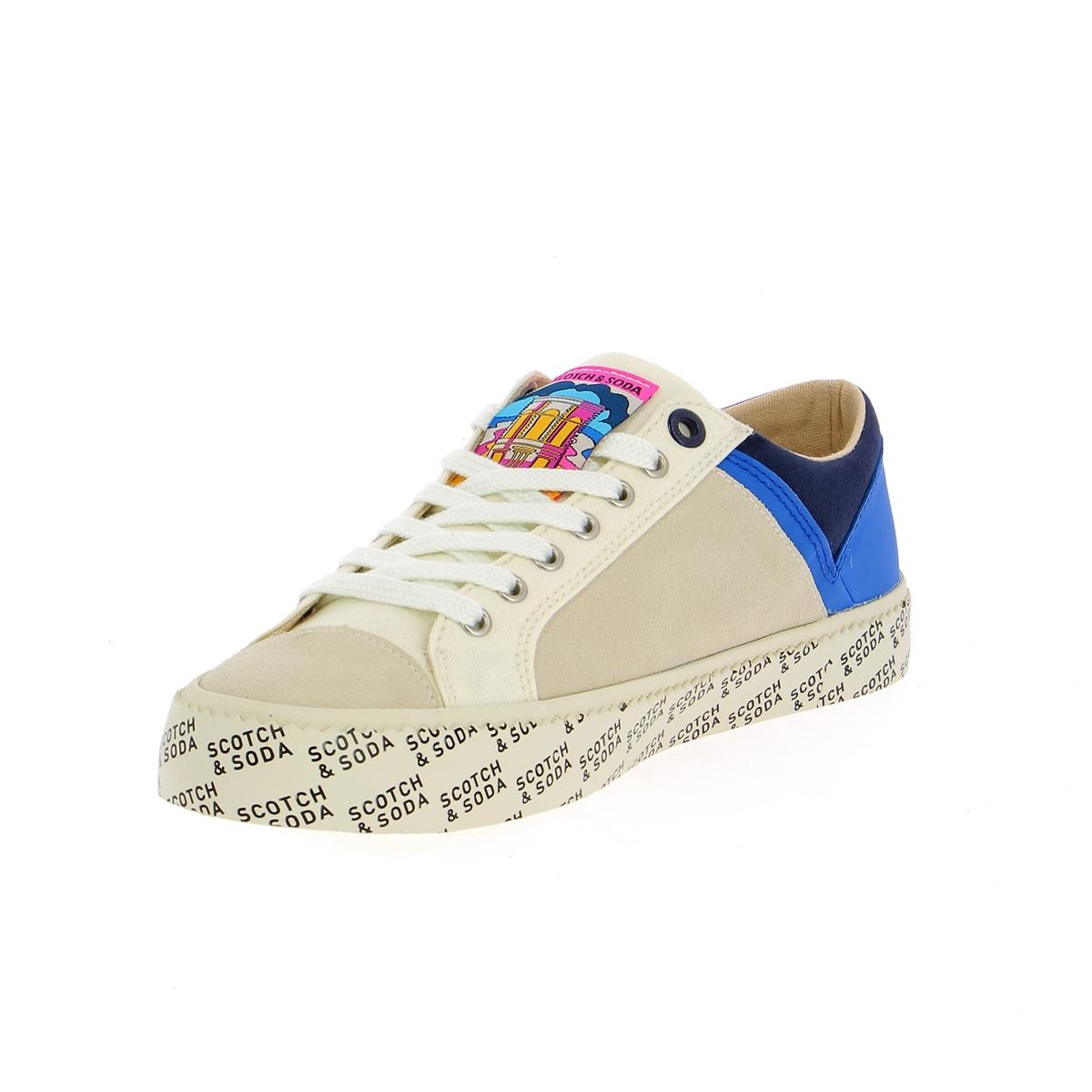Scotch & Soda Sneakers wit