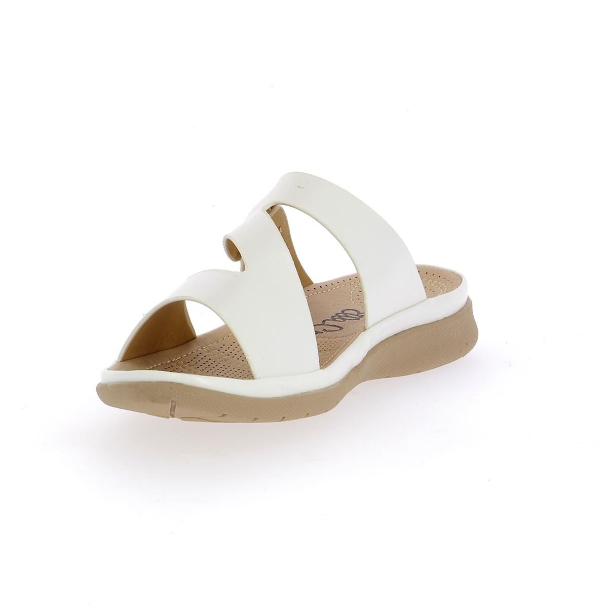 Cypres Muiltjes - slippers wit