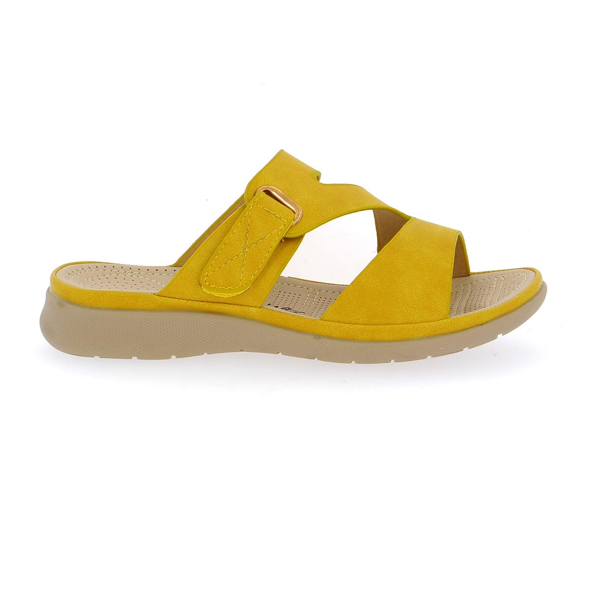 Cypres Muiltjes - slippers geel