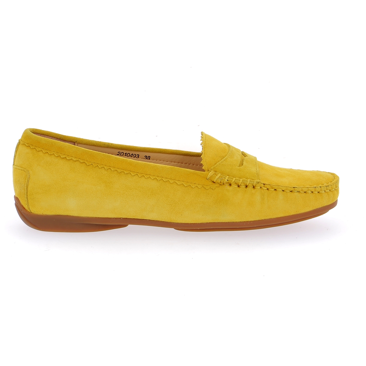 Cypres Moccassins jaune