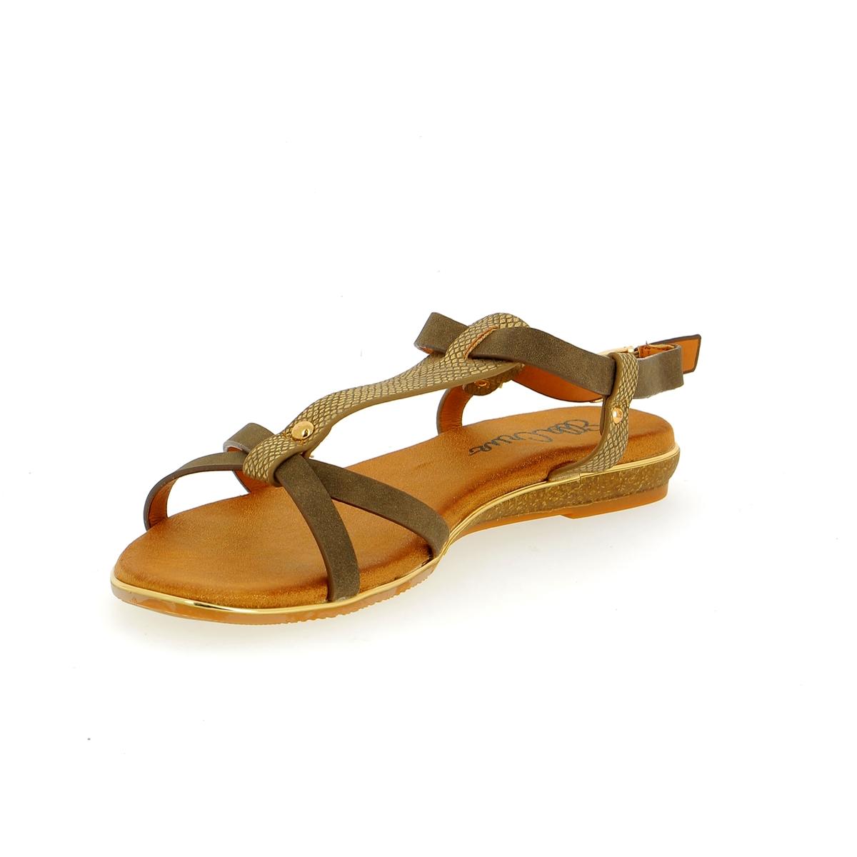 Cypres Sandalen kaki