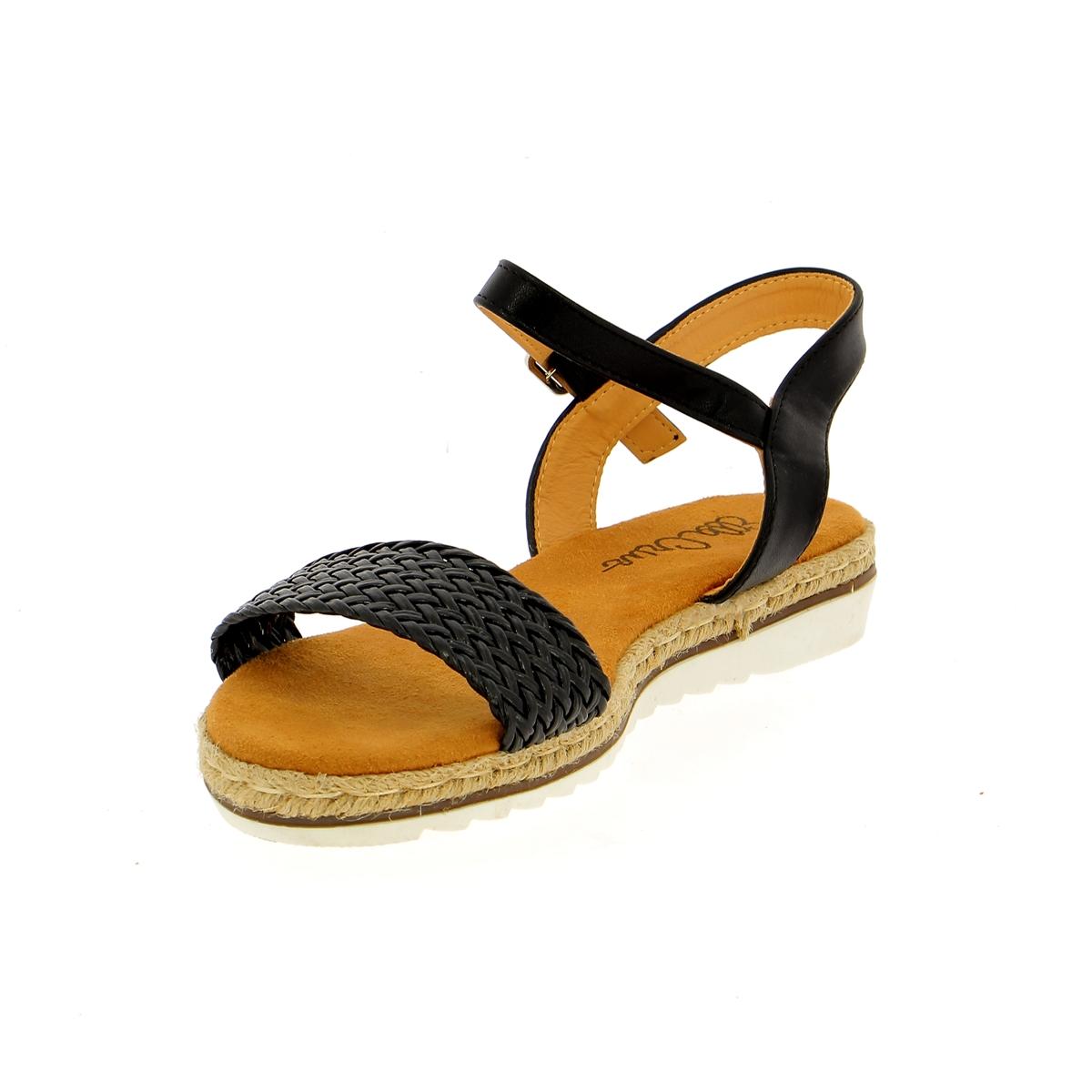 Cypres Sandales noir