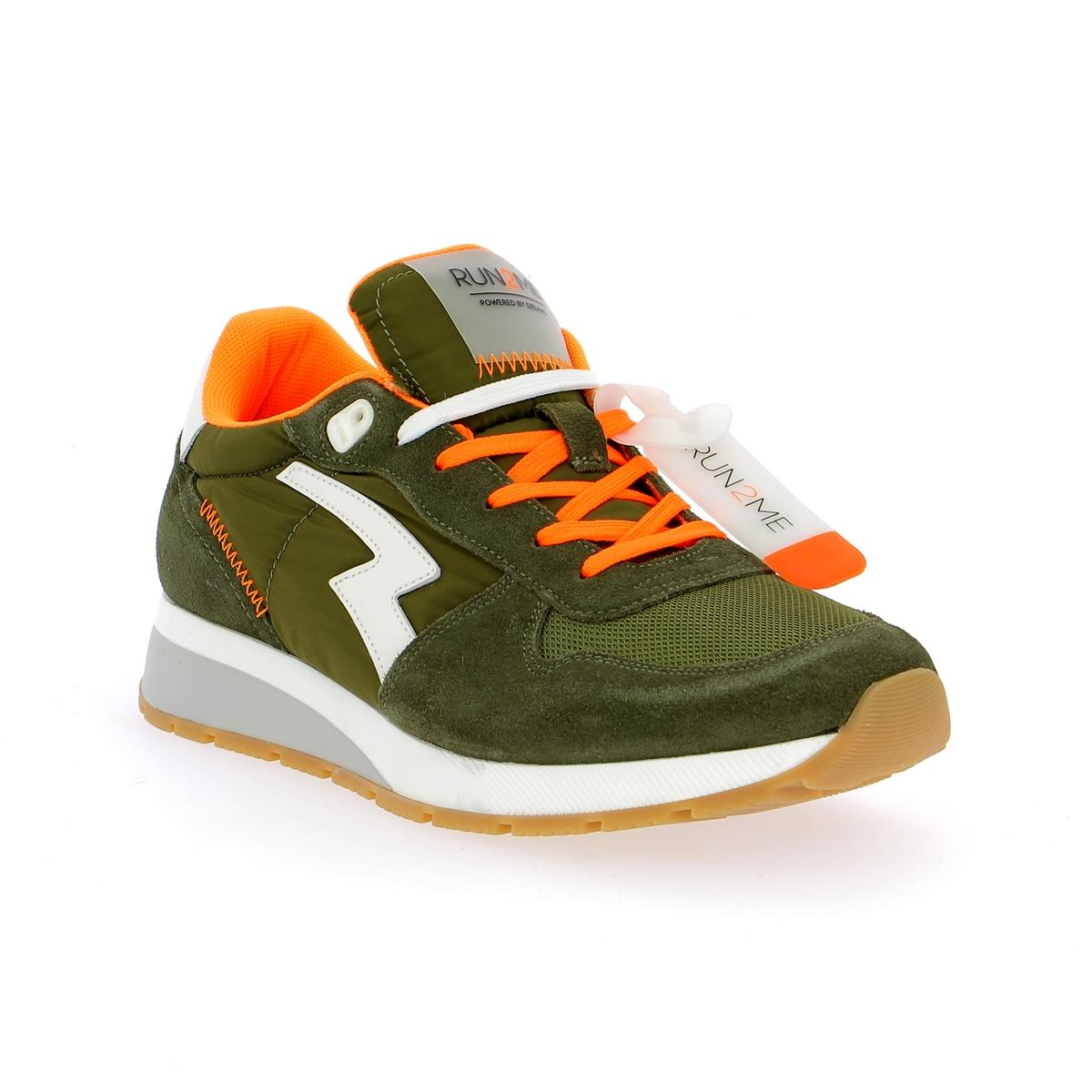 Run2me Sneakers kaki