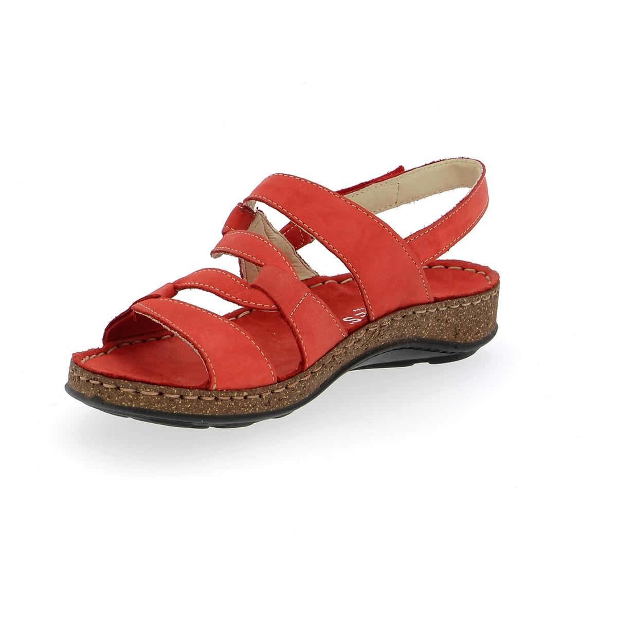 Cypres Sandales rouge