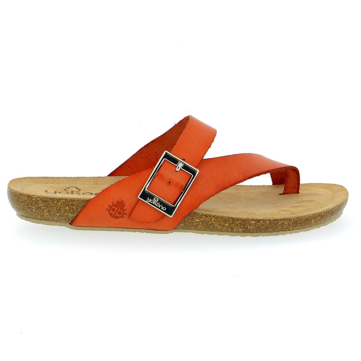 Yokono Muiltjes - slippers oranje