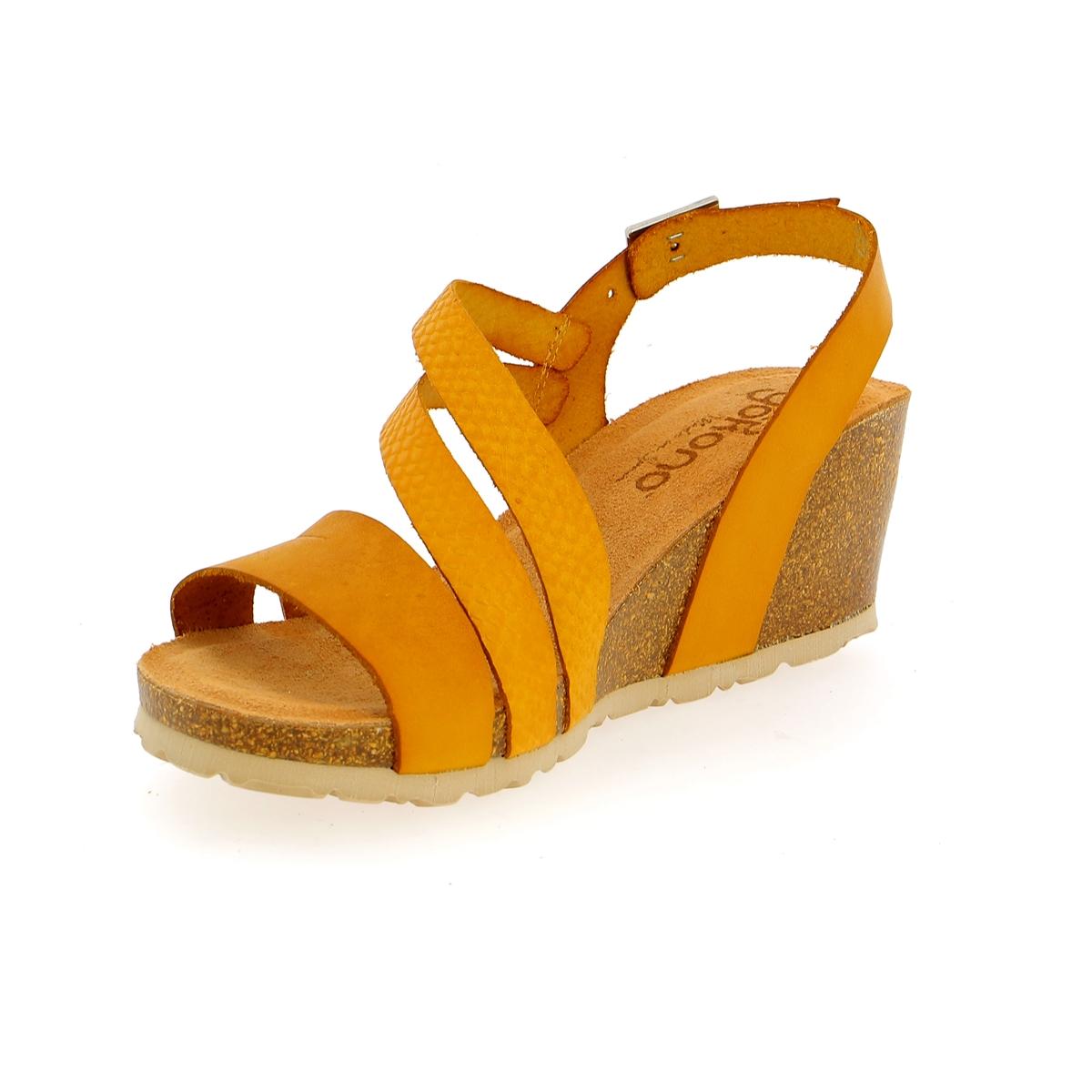 Yokono Sandalen geel