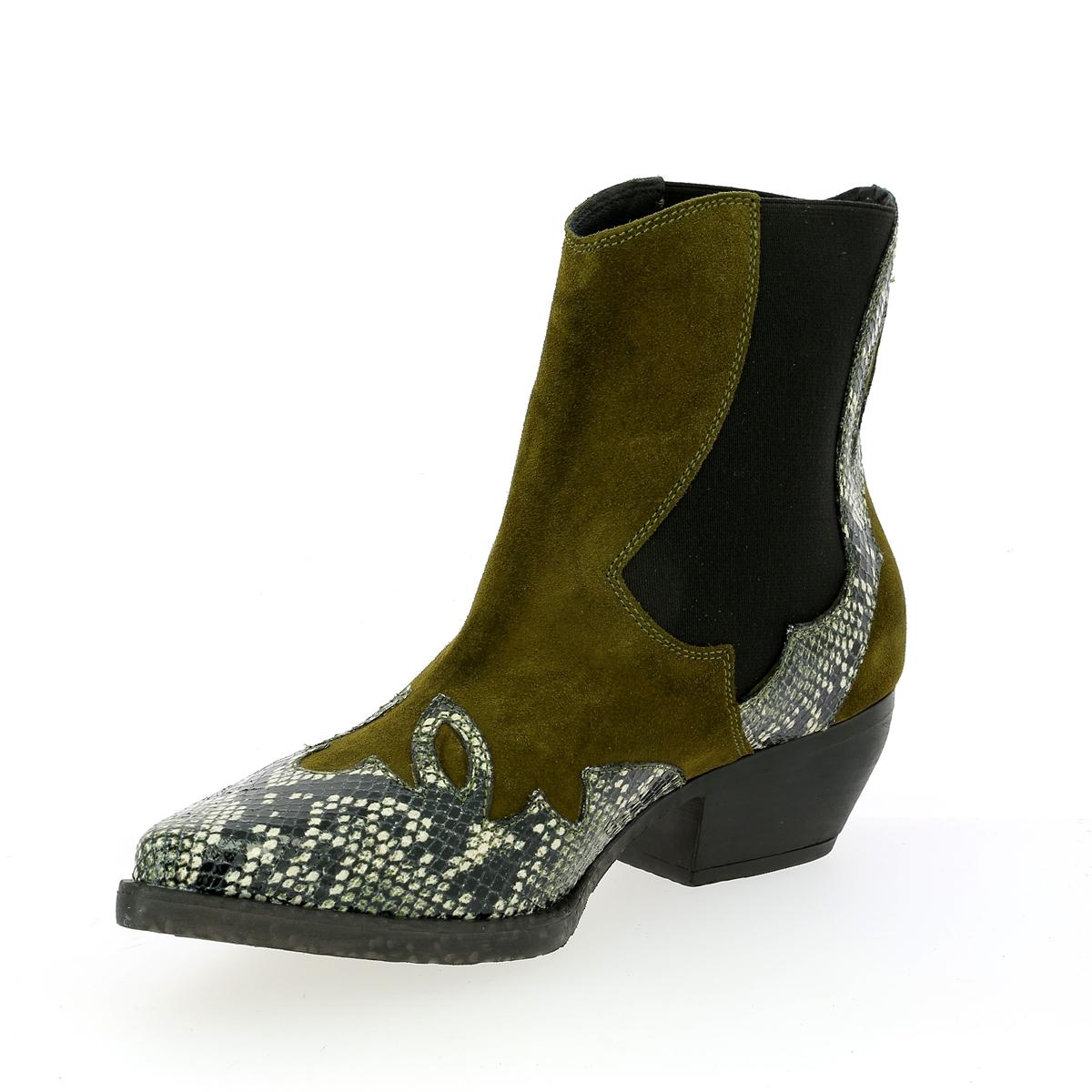 Tosca Blu Boots kaki