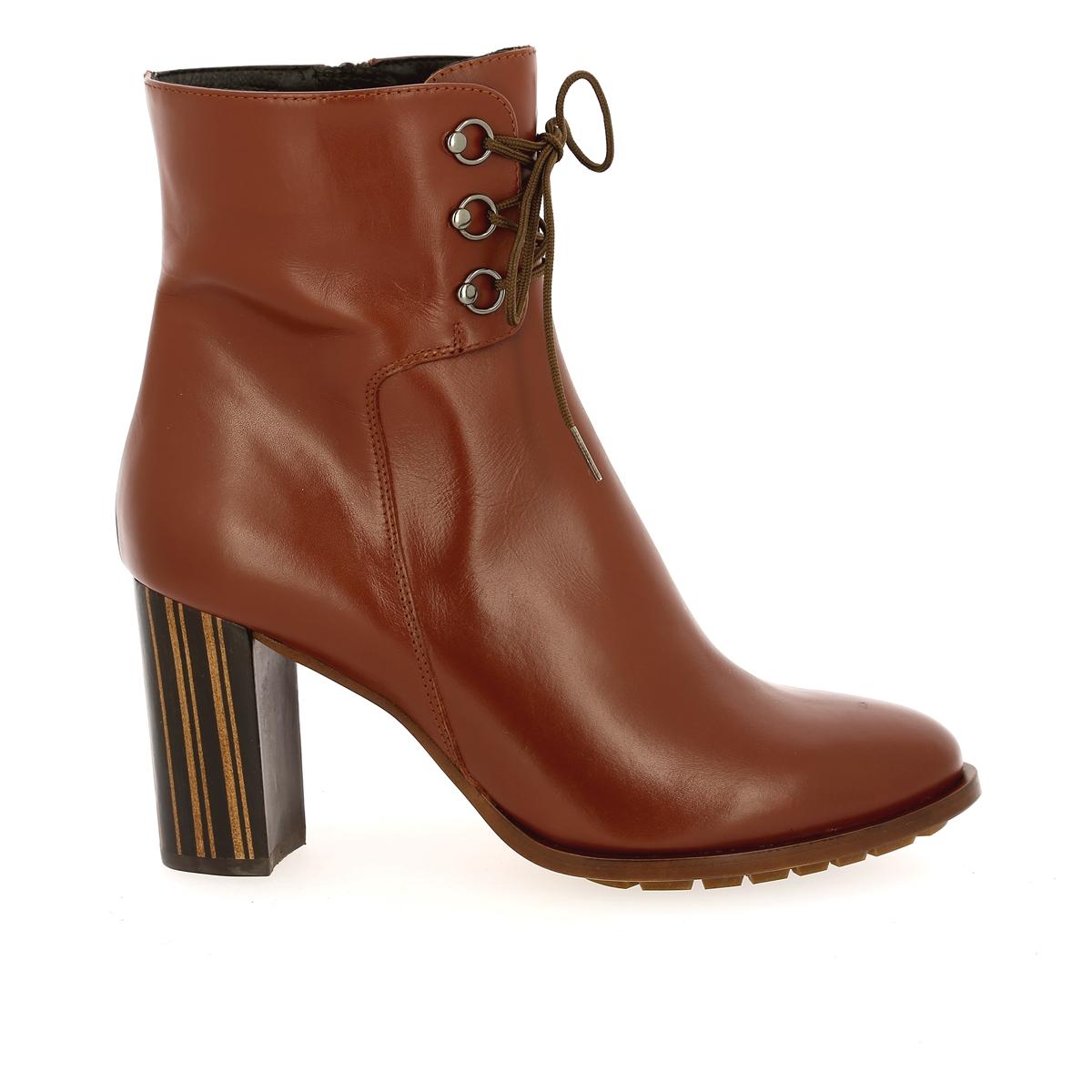 Zinda Boots cognac