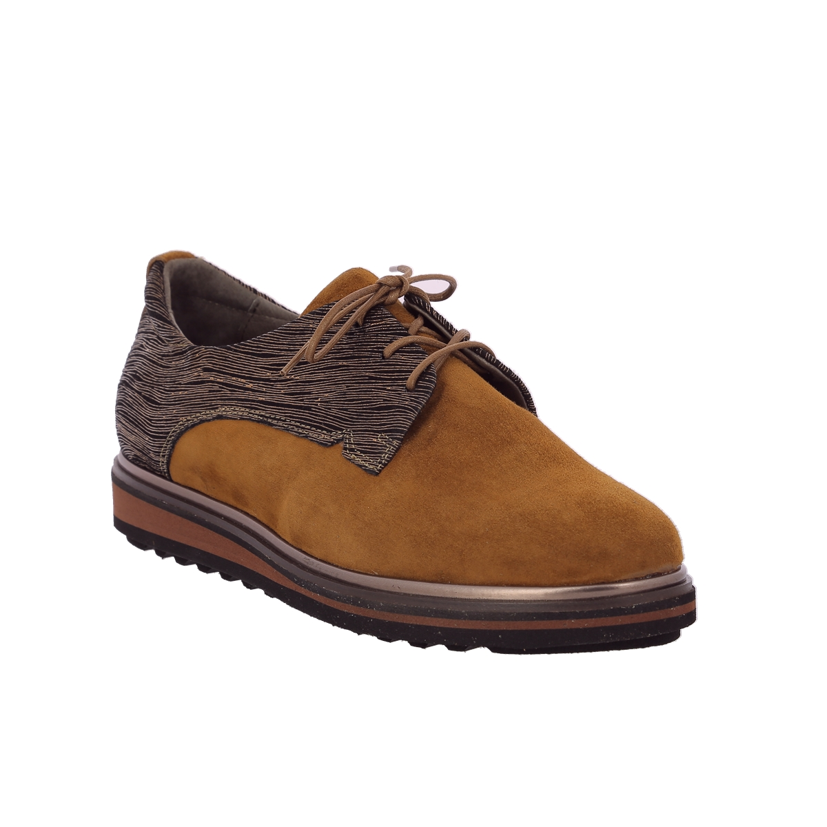 Softwaves Veterschoenen cognac