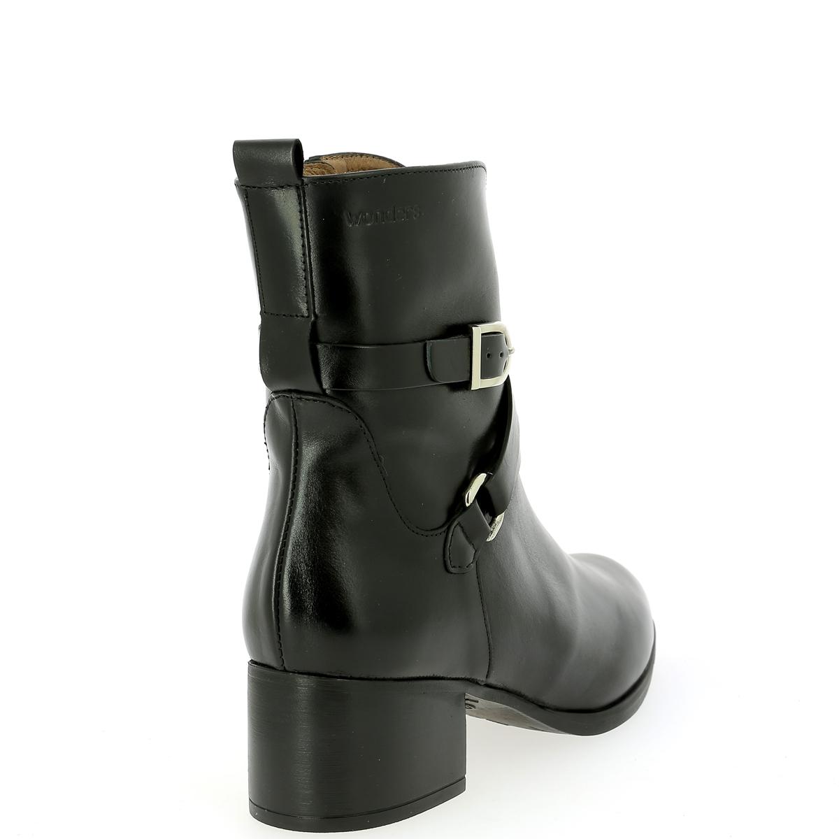 Wonders Boots zwart