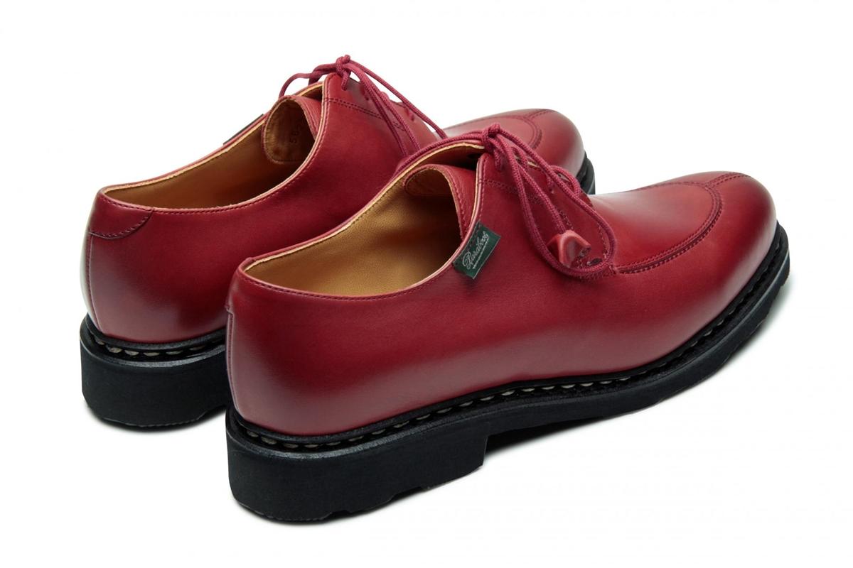 Paraboot Veterschoenen rood