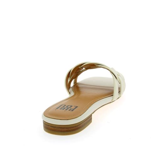 Bibilou Muiltjes - slippers wit