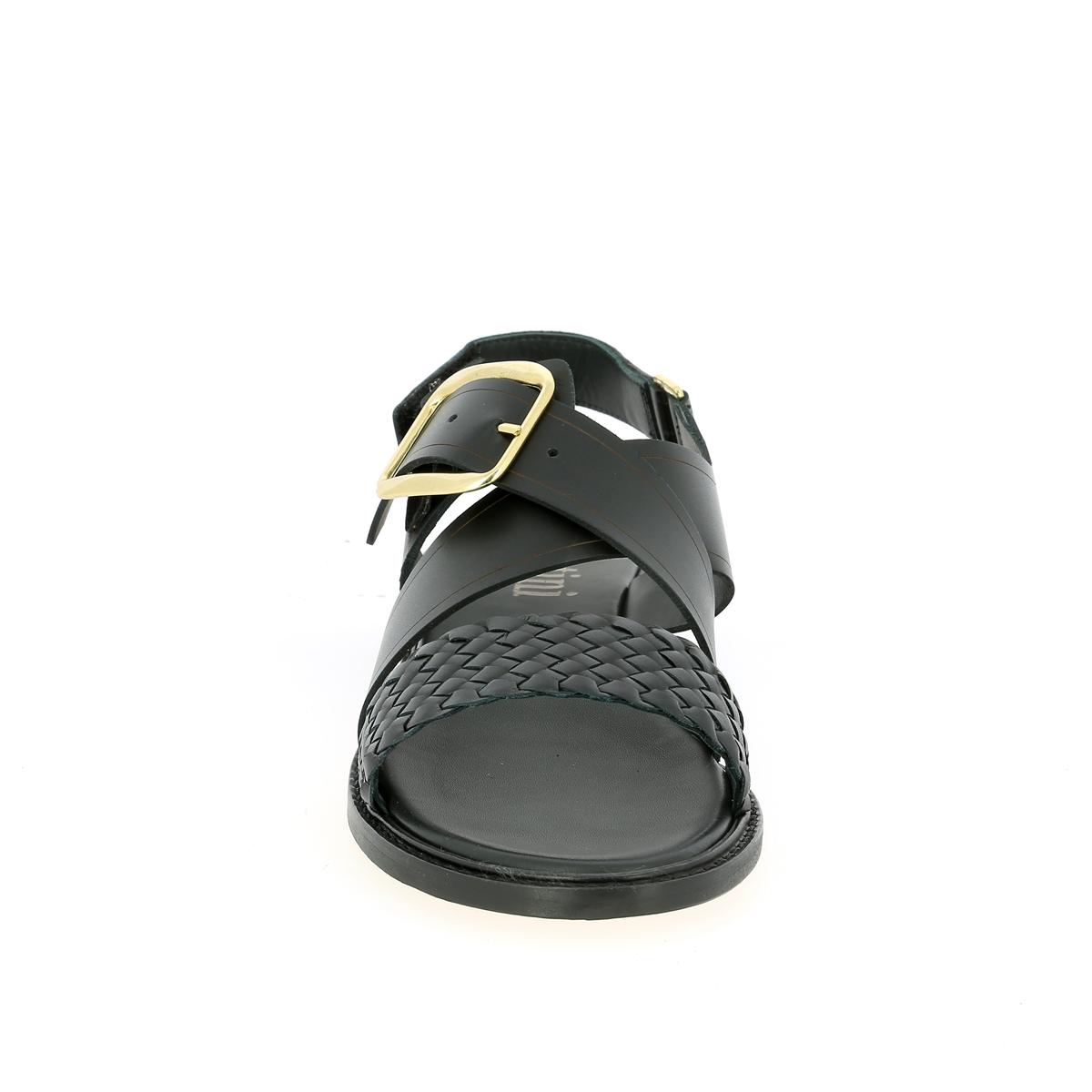 Pertini Sandalen zwart