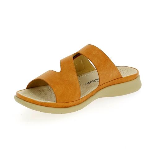 Cypres Muiltjes - slippers camel