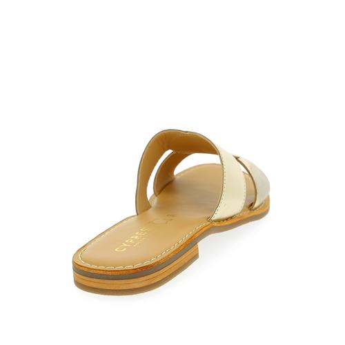 Walkside Muiltjes - slippers platinum