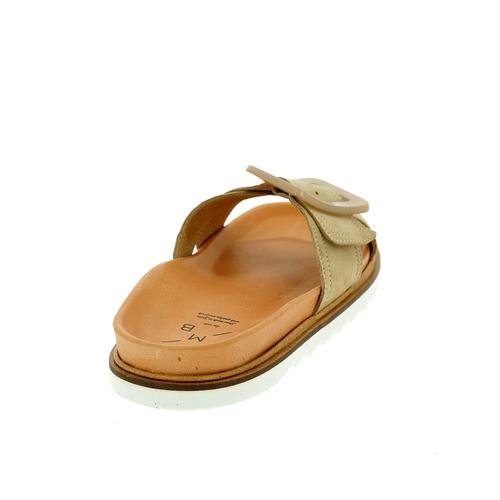 Kmb Muiltjes - slippers taupe