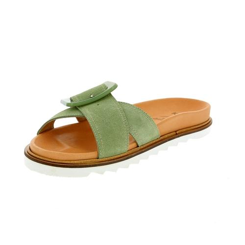 Kmb Muiltjes - slippers groen