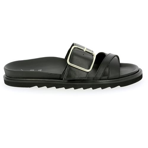 Kmb Muiltjes - slippers zwart