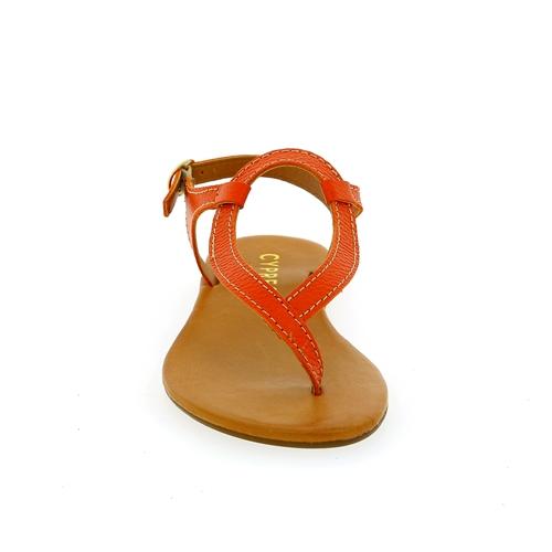 Cypres Sandalen oranje