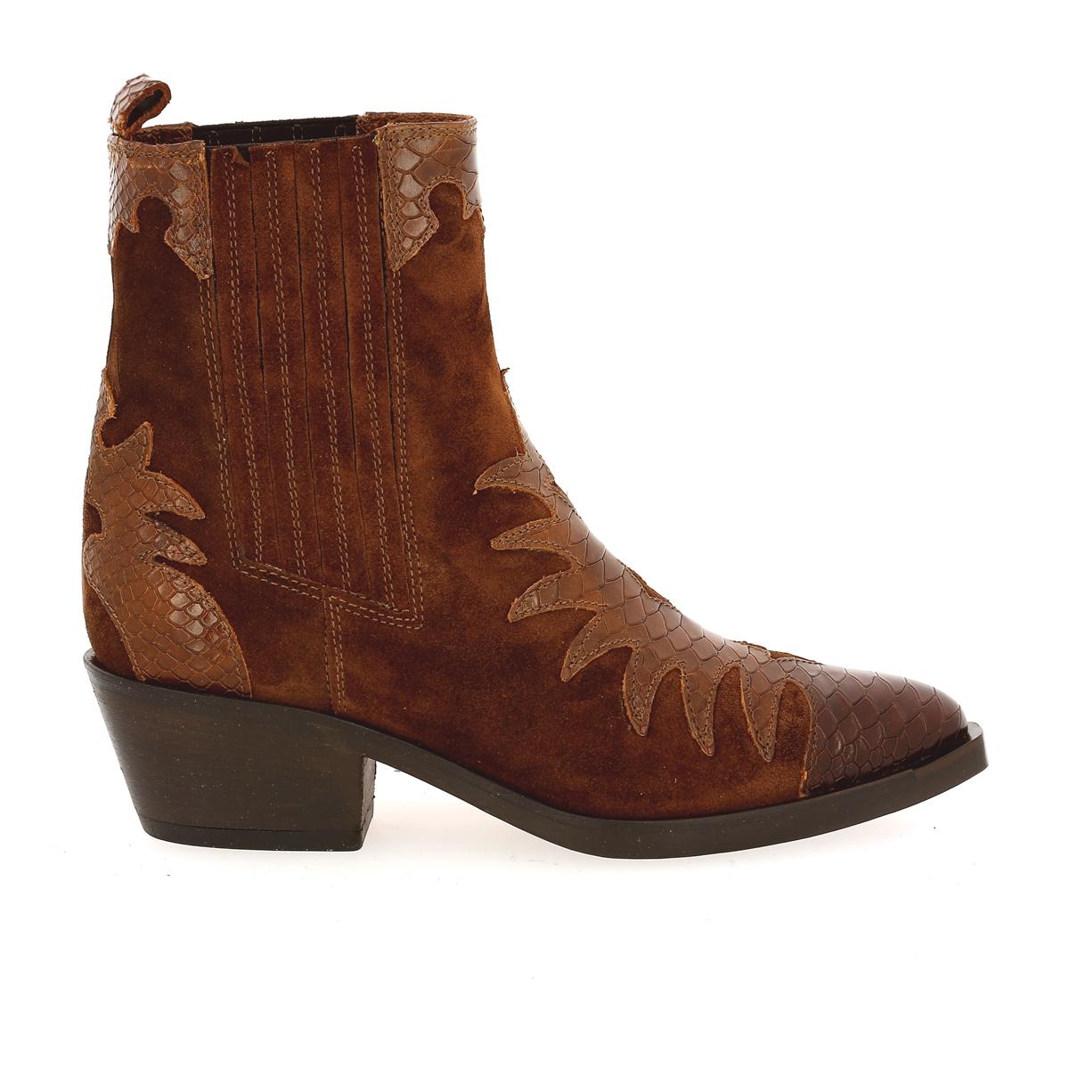 Gioia Boots cognac