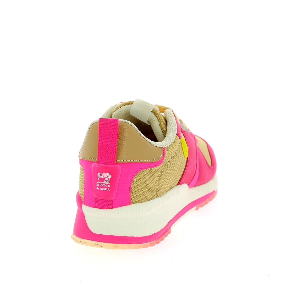 Scotch & Soda Sneakers roze
