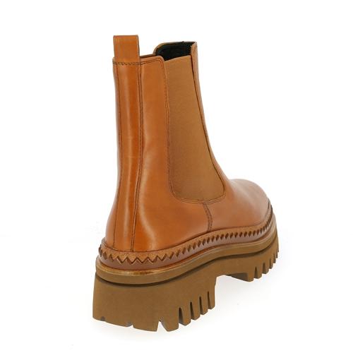 Elvio Zanon Boots cognac