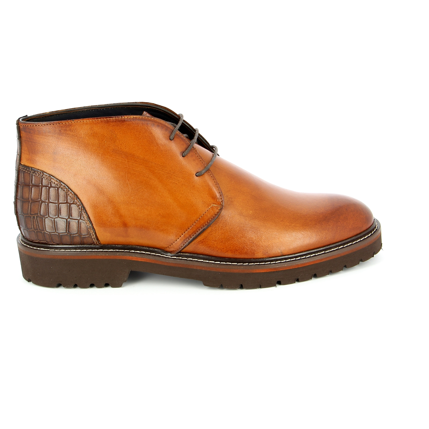 Daniel Kenneth  Bottines cognac