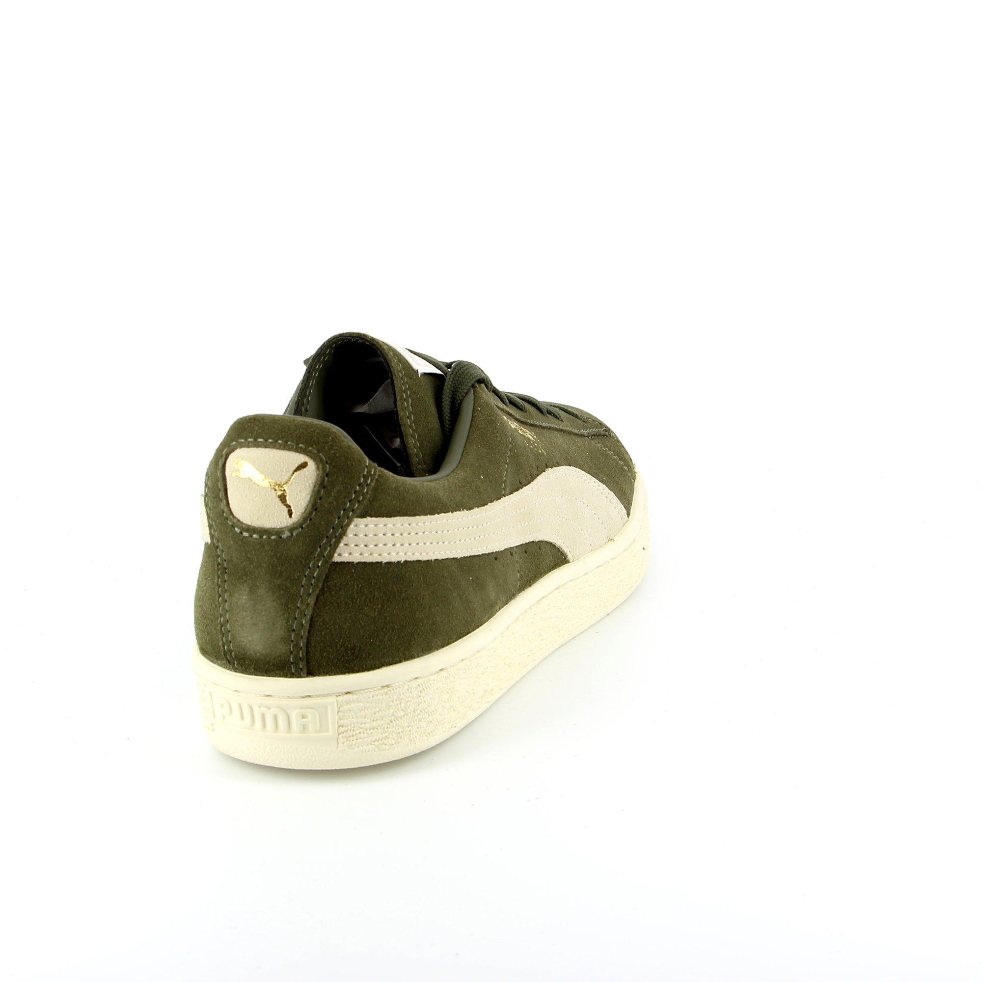 Puma Basket kaki