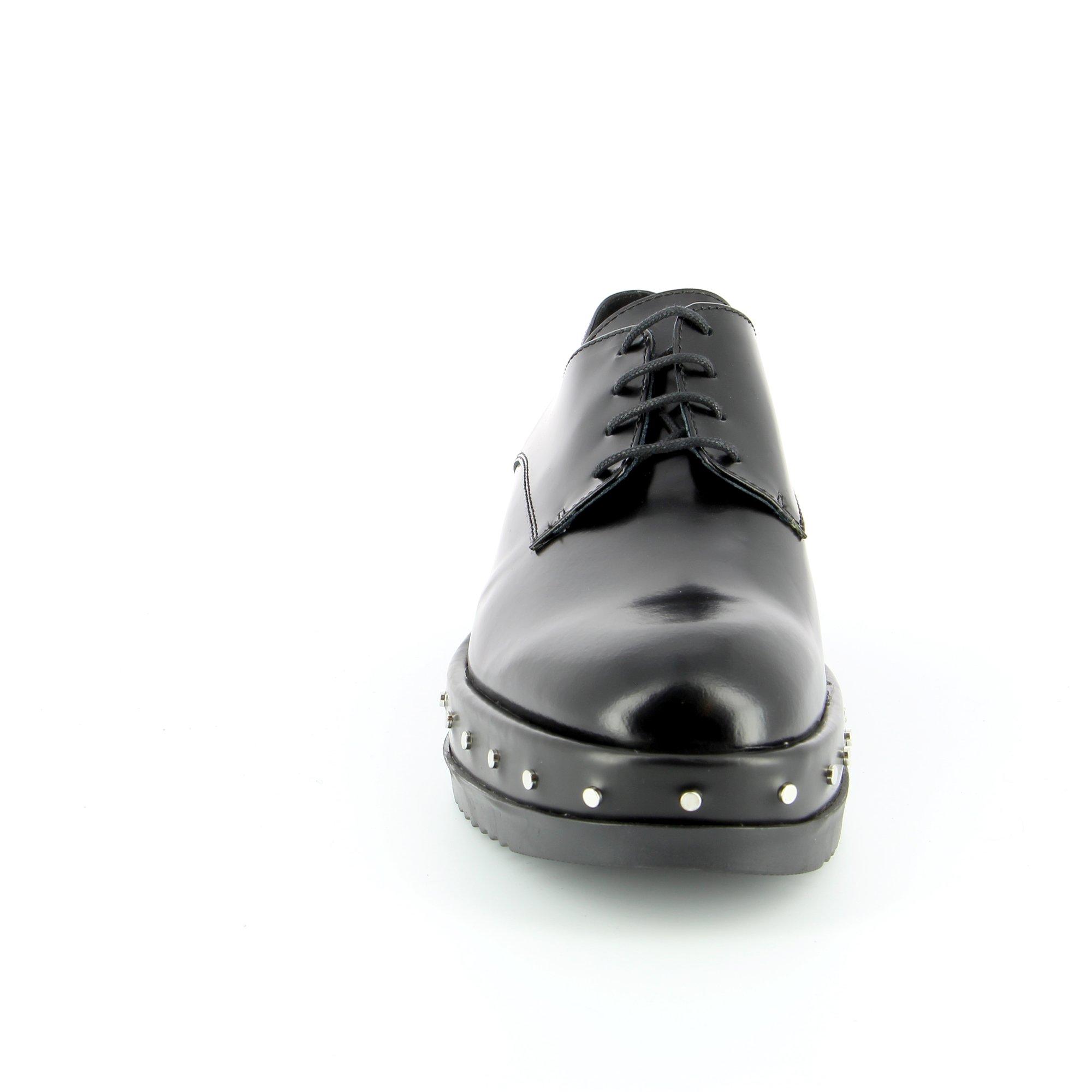 Tosca Blu Veterschoenen zwart