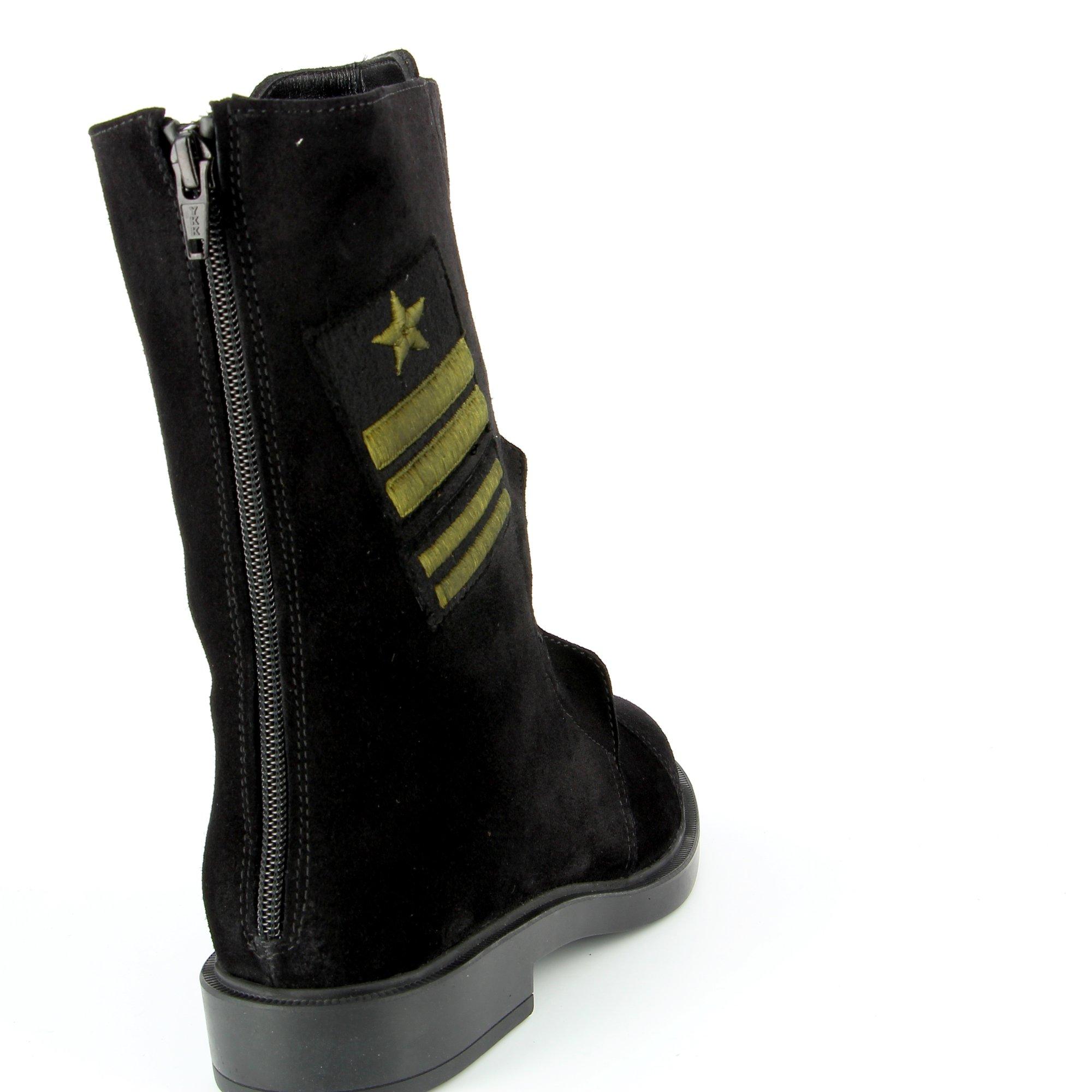 Triver Flight Boots noir