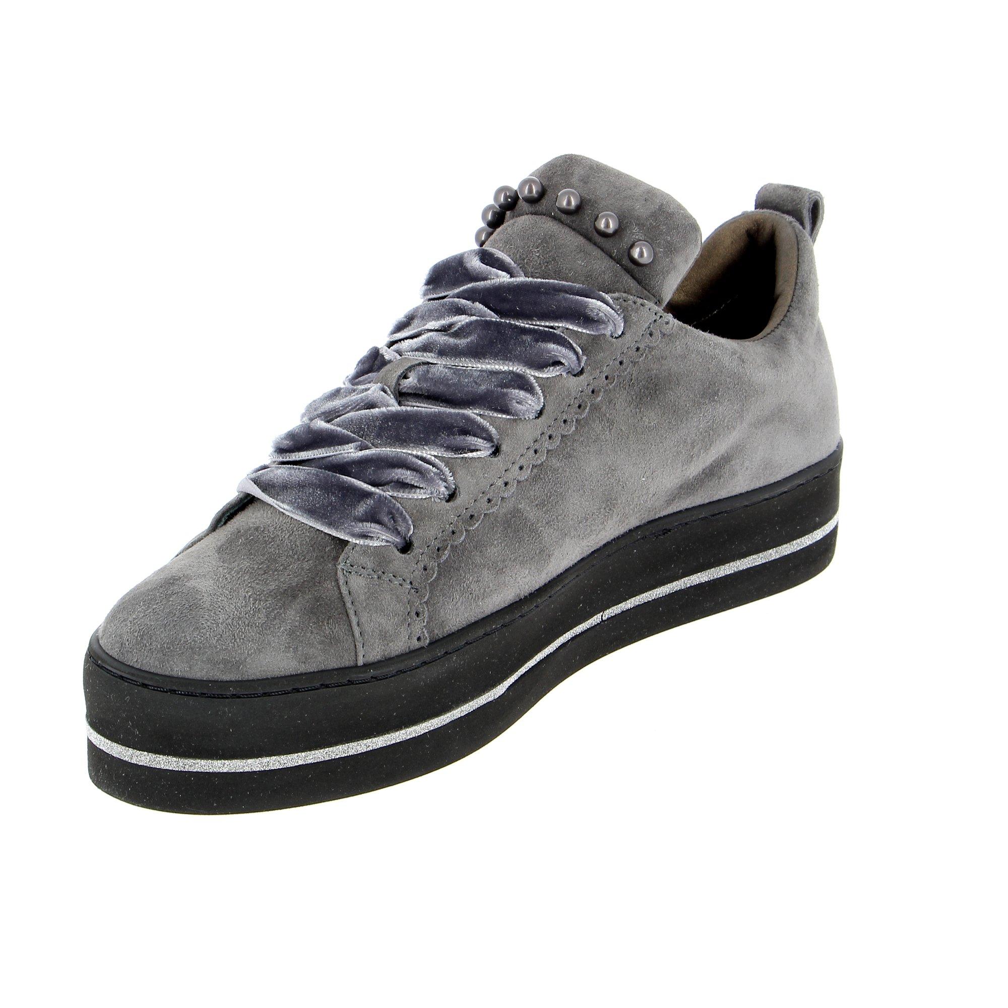 Maripe Veterschoenen grijs