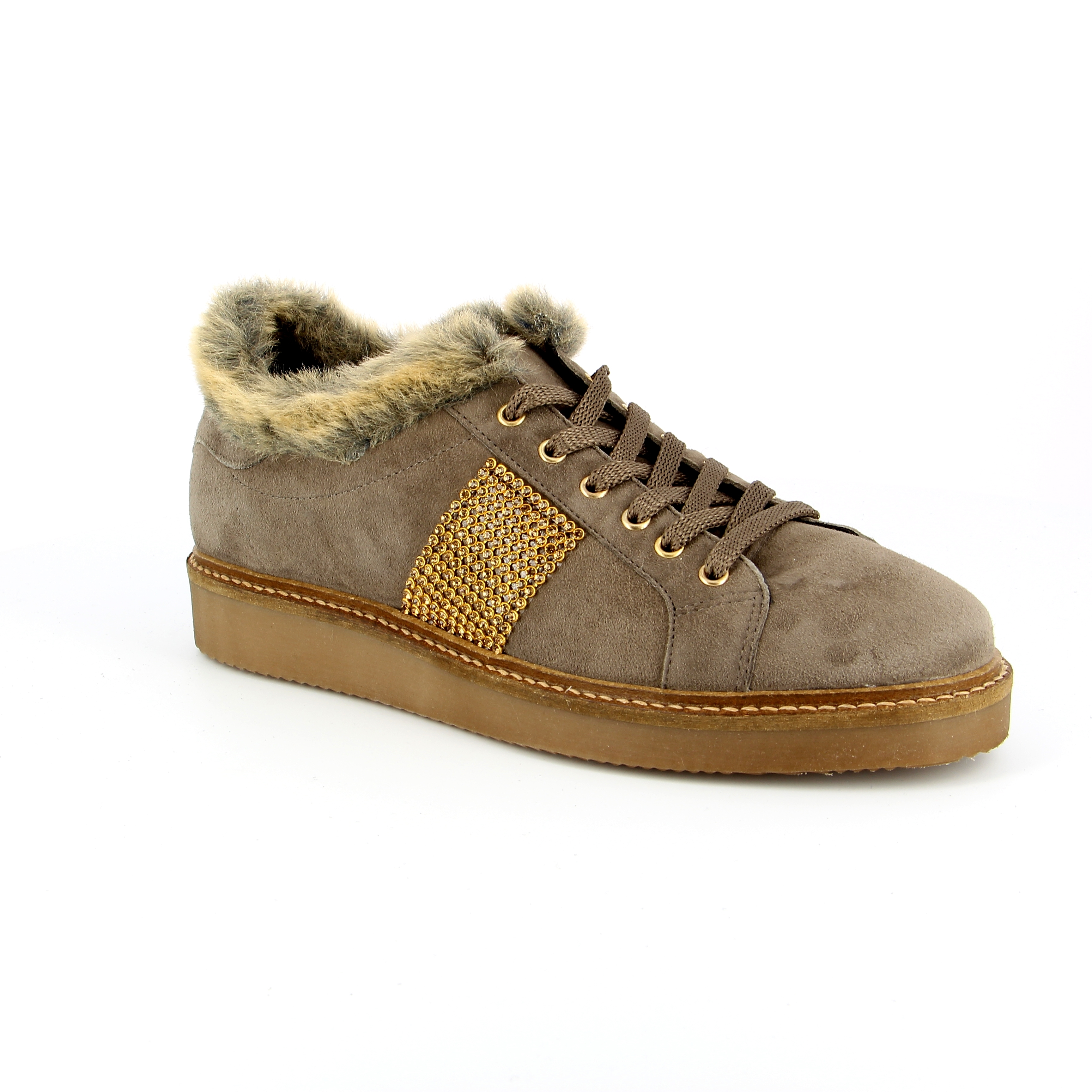 River Wood Veterschoenen taupe