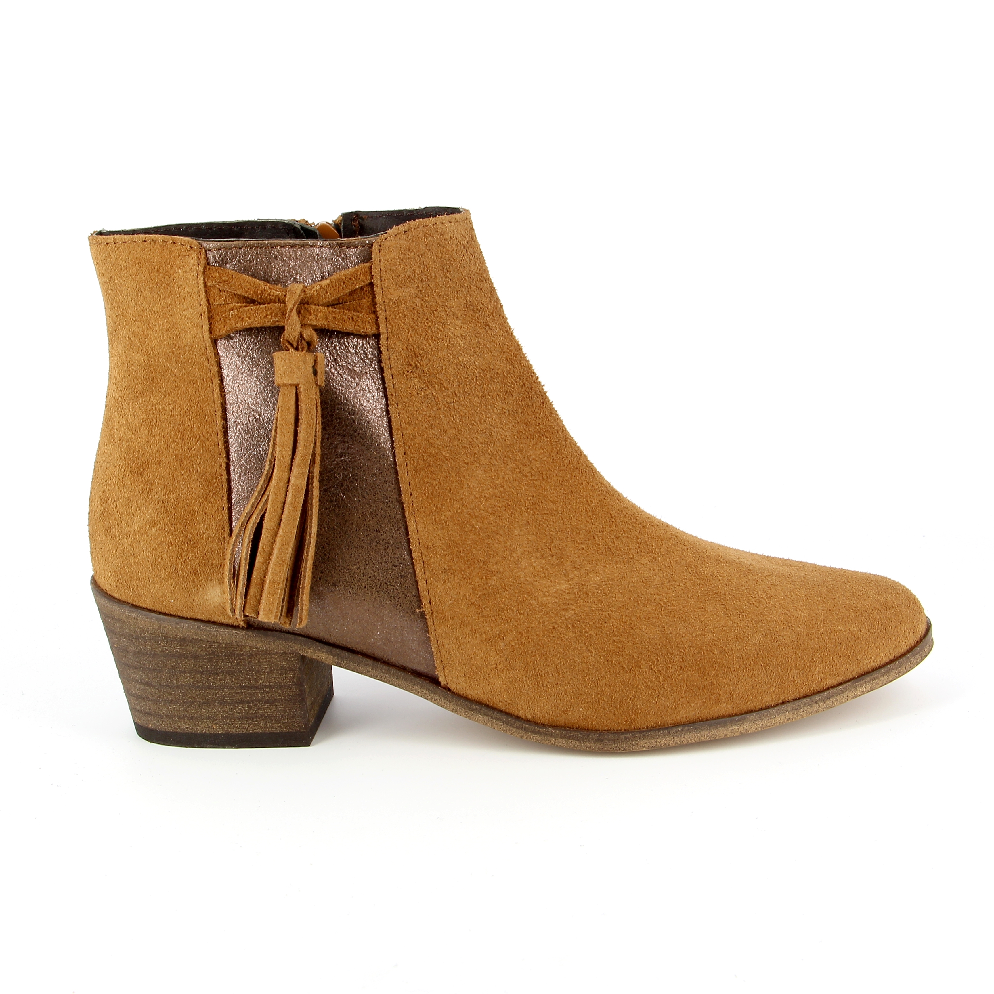 River Wood Boots cognac