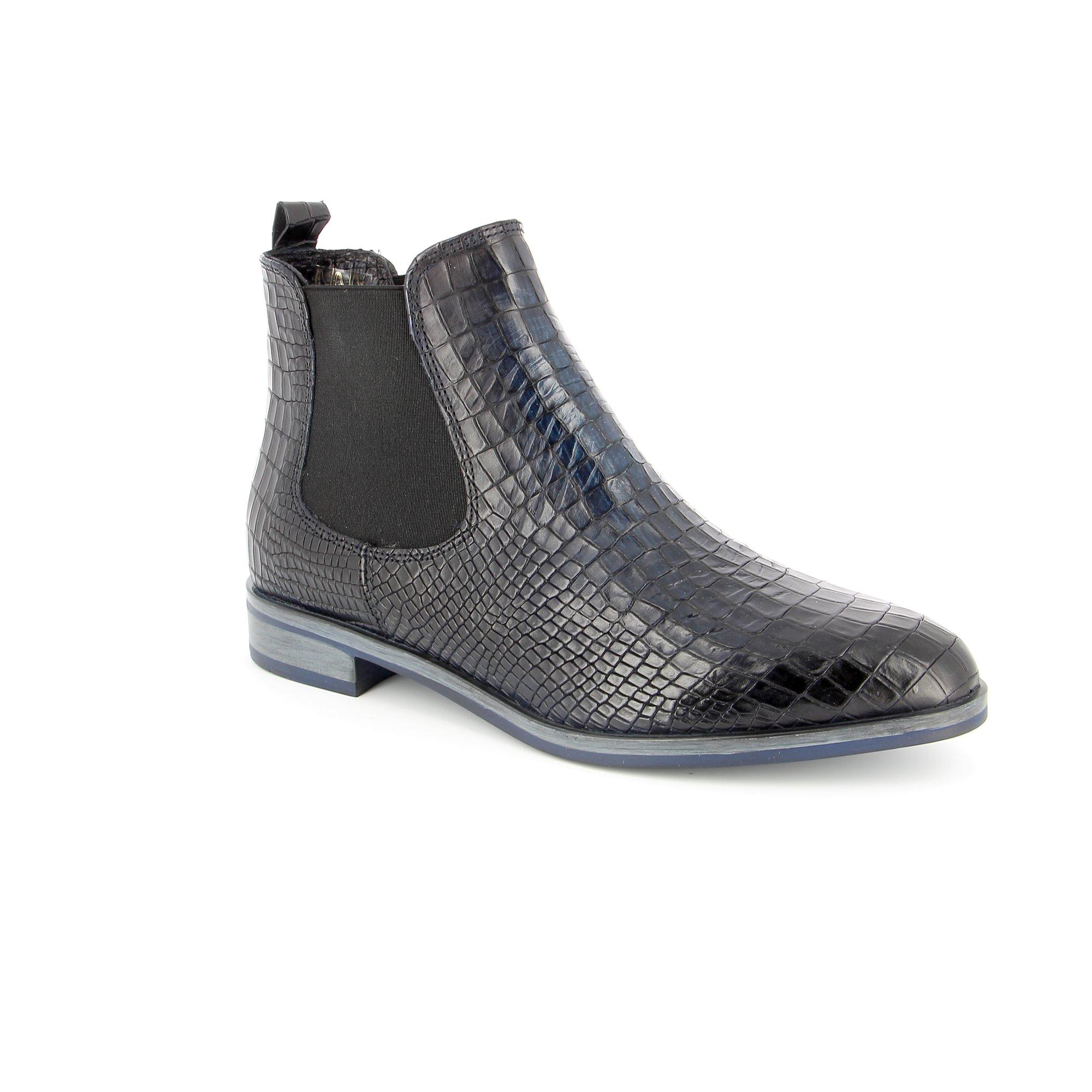Di Lauro Boots blauw