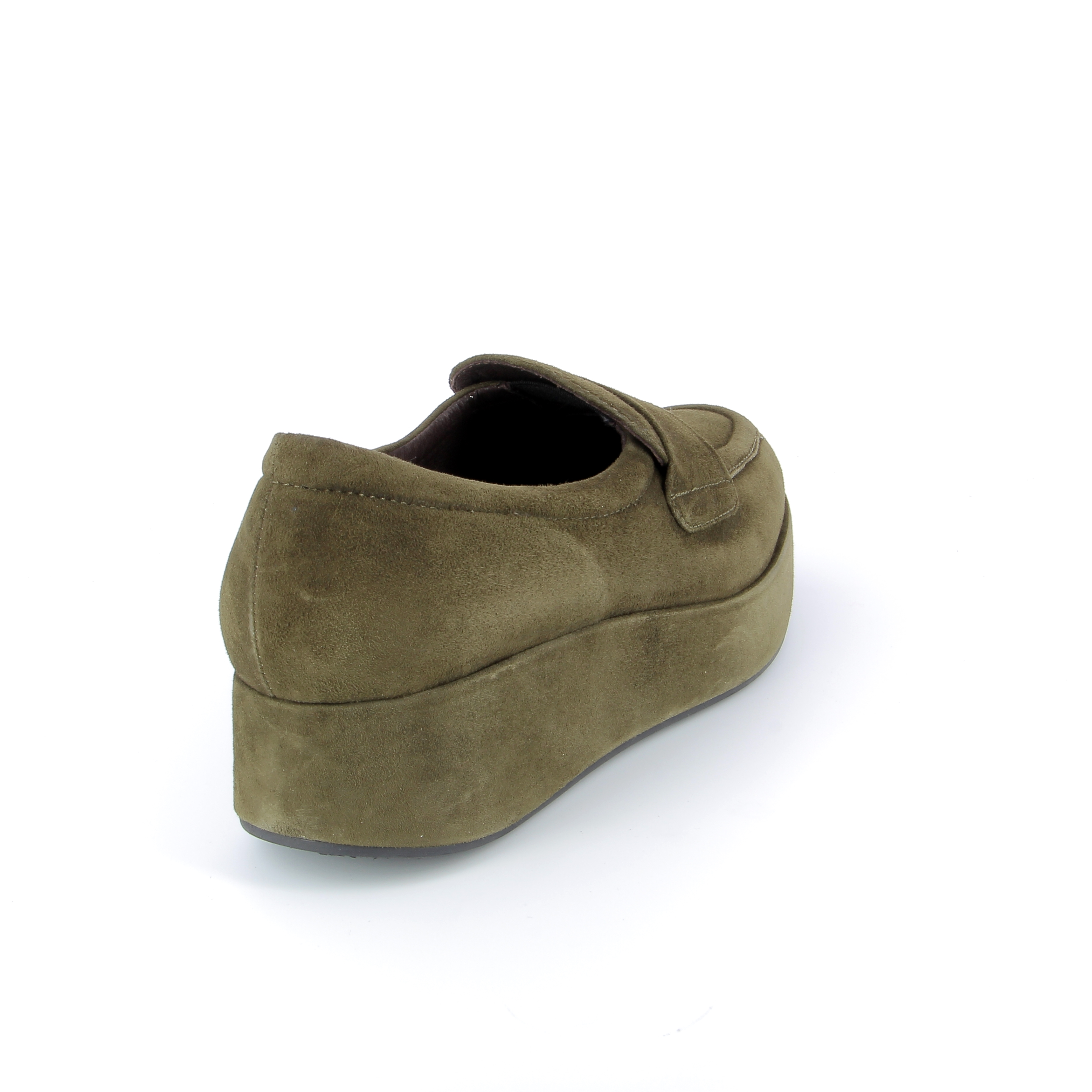 Fashion Moda Instappers - instapschoenen kaki