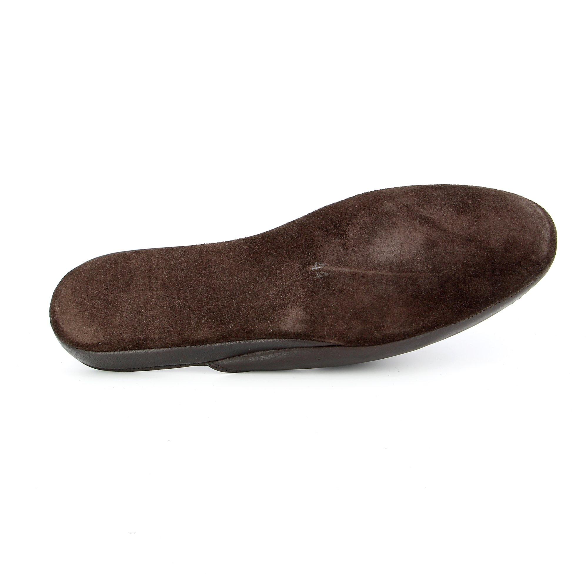 Sofacq Pantoufles brun