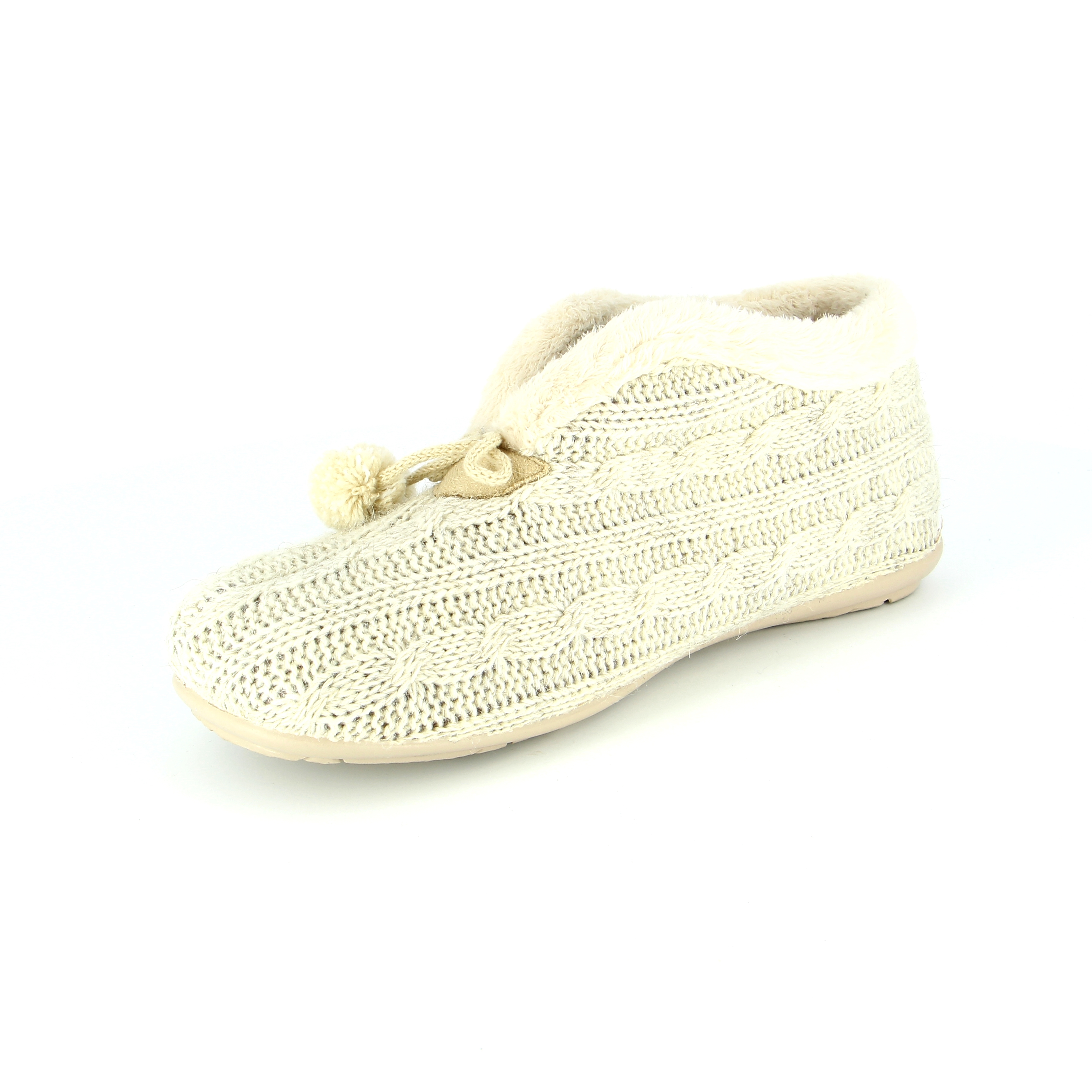 Cypres Pantoufles beige