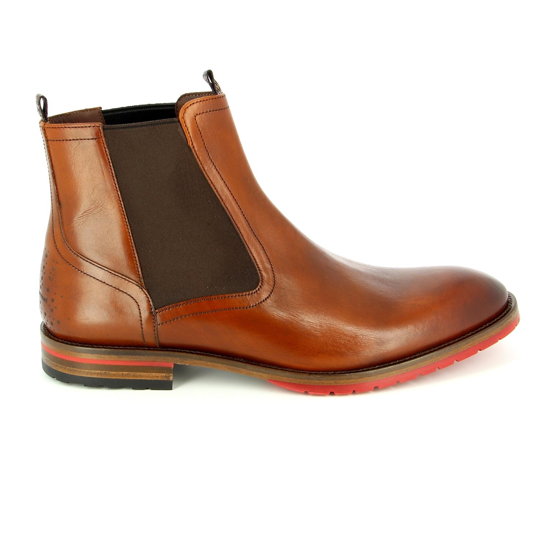 Floris Van Bommel Boots cognac