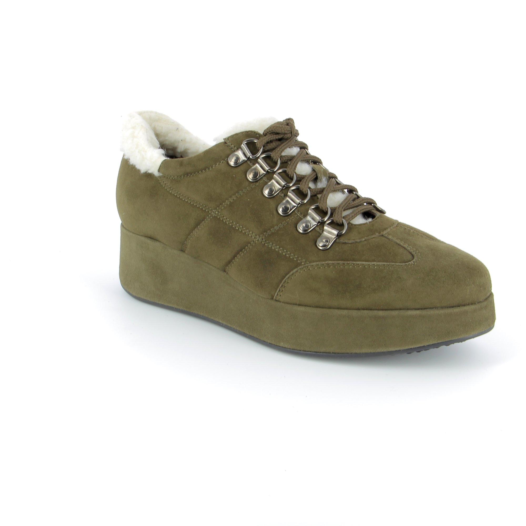 Fashion Moda Veterschoenen kaki
