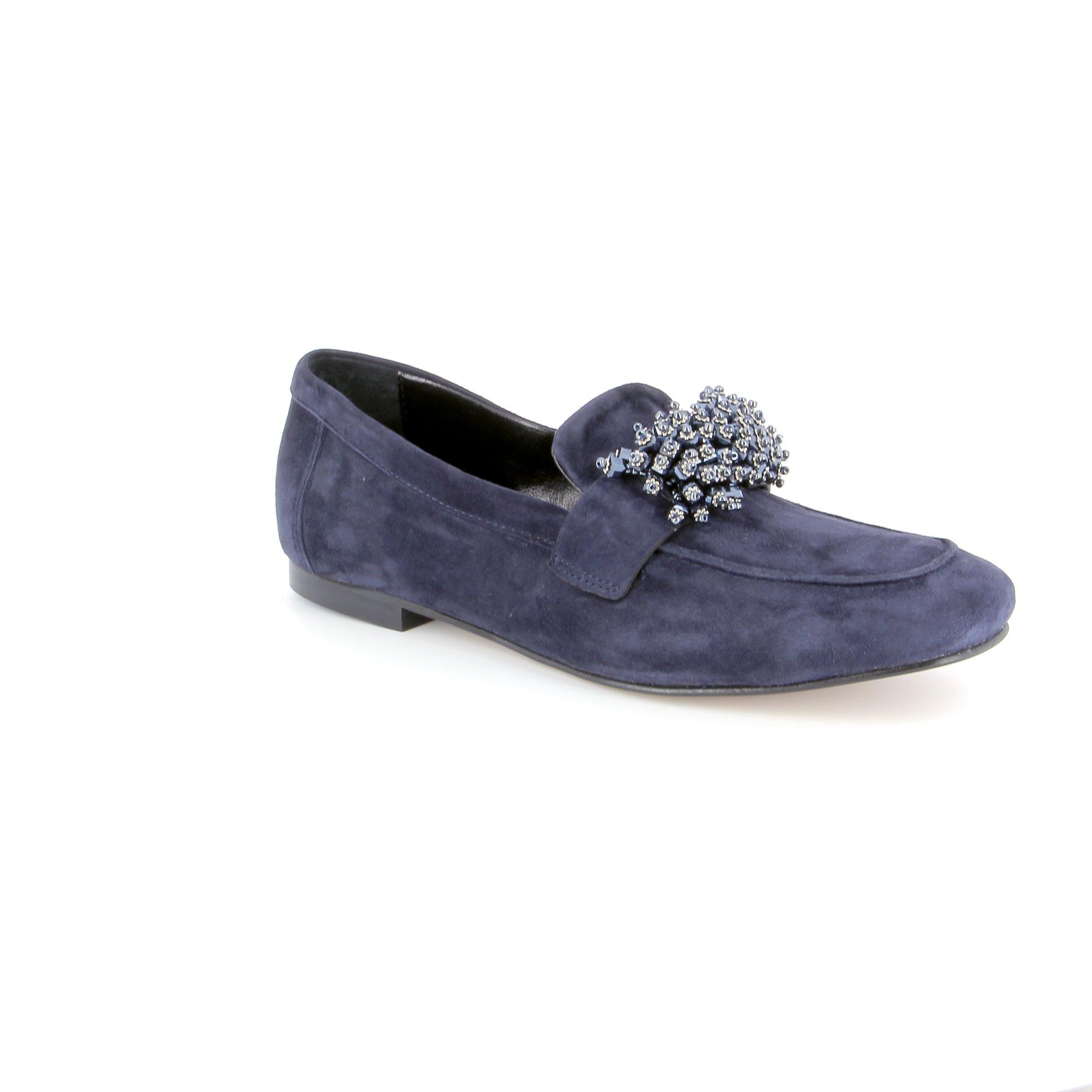 Louisa Instappers - instapschoenen blauw