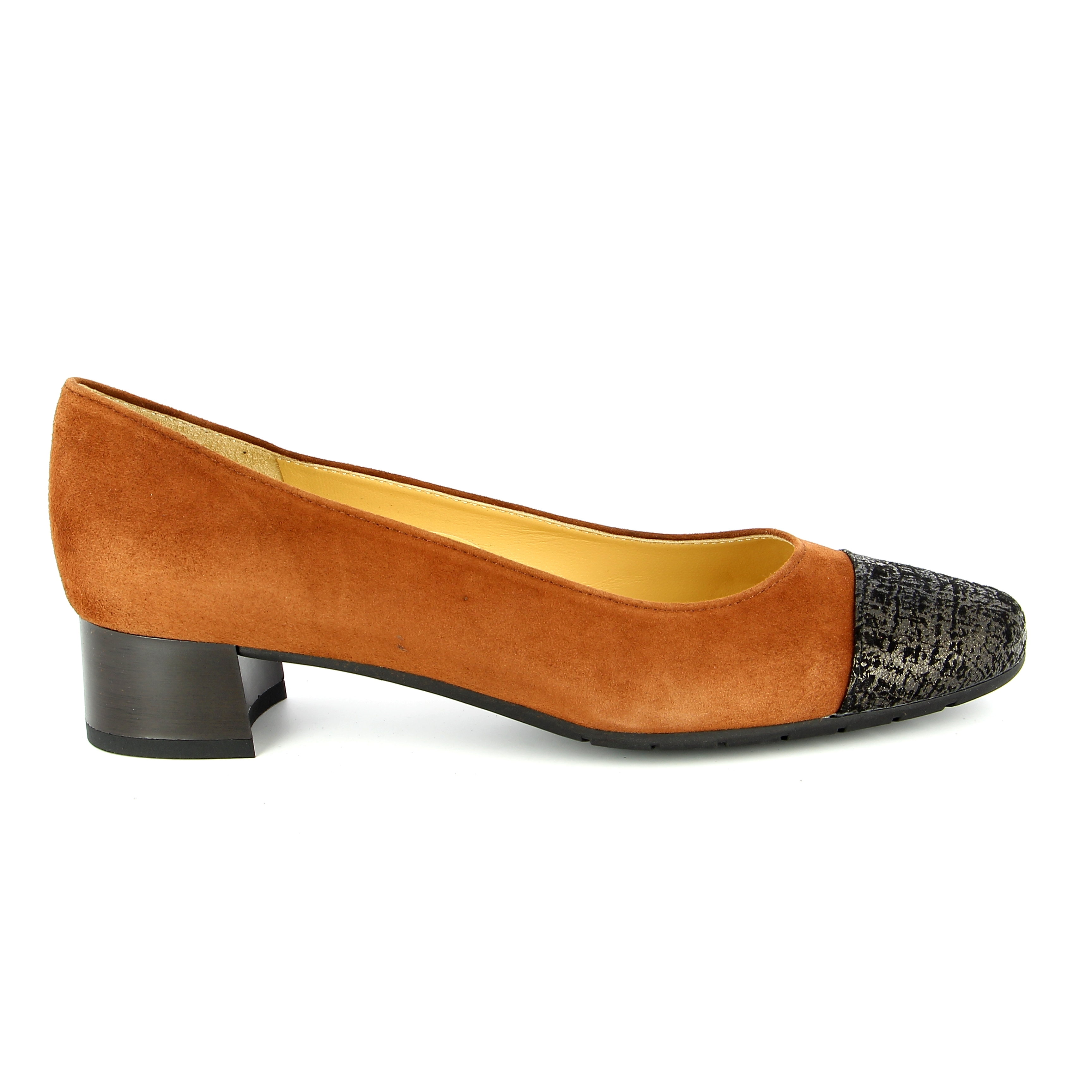 Brunate Pumps cognac