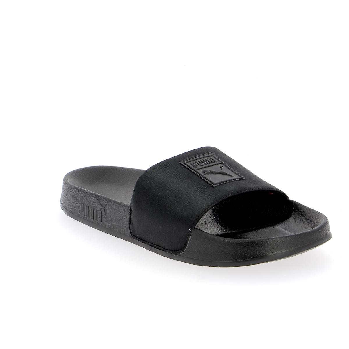 Puma Muiltjes - slippers zwart