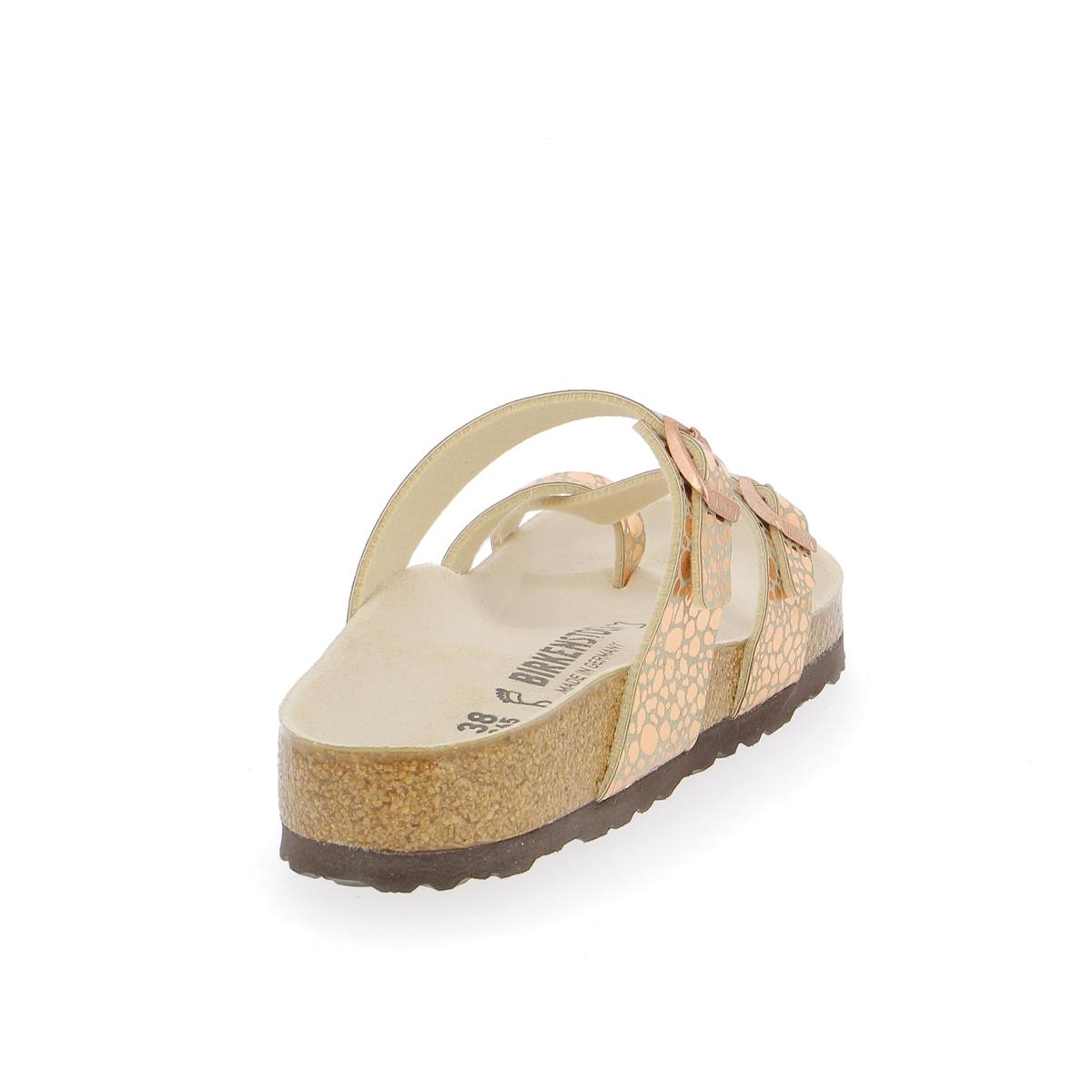 Birkenstock Muiltjes - slippers goud