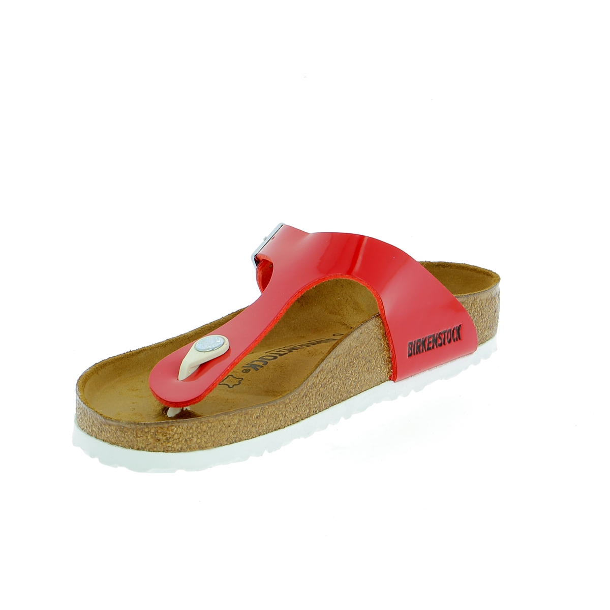 Birkenstock Muiltjes - slippers rood